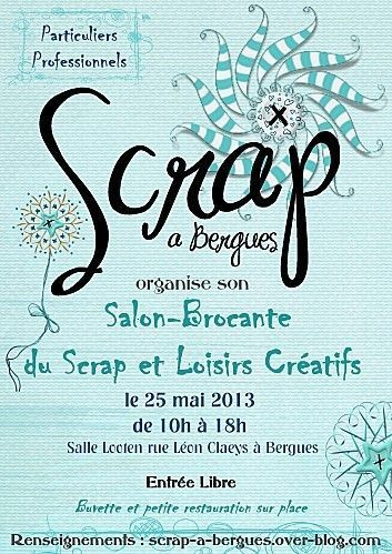 SALON DU SCRAP A BERGUES